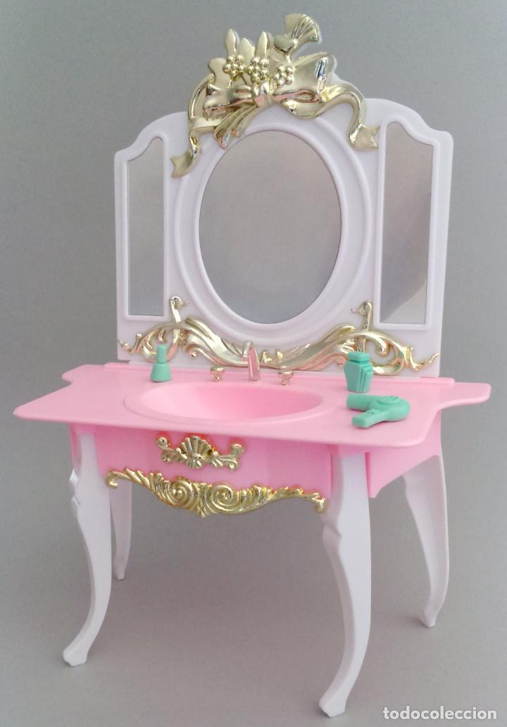 muebles barbie lavabo tocador - Comprar Barbie y Ken - Vestidos y ...