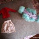 Barbie y Ken: LOTE DE 3 PRENDAS DE ROPA DE BARBIE.. Lote 120067487