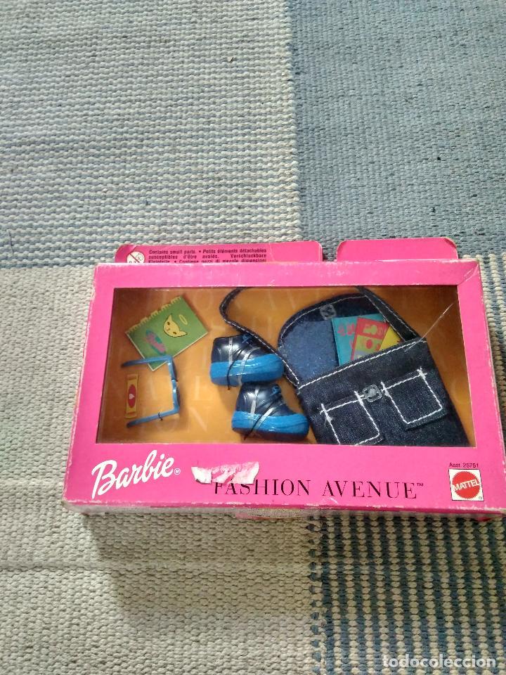 VESTIDO BARBIE FASHION AVENUE AÑO 1999 (Juguetes - Muñeca Extranjera Moderna - Barbie y Ken - Vestidos y Accesorios)
