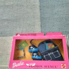 Barbie y Ken: VESTIDO BARBIE FASHION AVENUE AÑO 1999. Lote 121018179