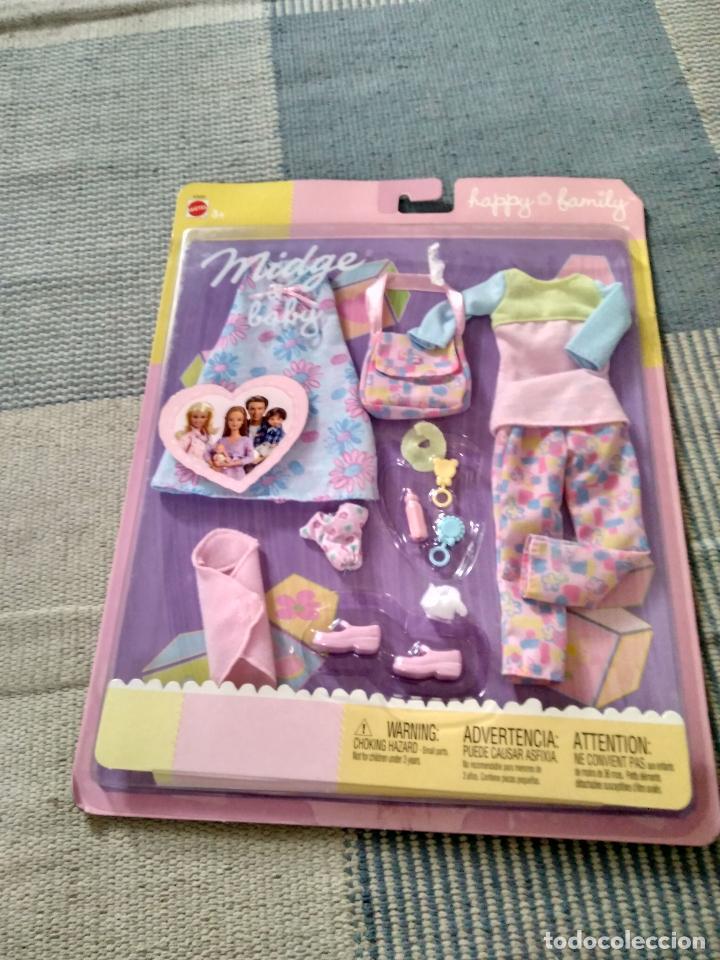 VESTIDOS DE LA HAPPY FAMILY DE MATTEL AÑO 2002 (Juguetes - Muñeca Extranjera Moderna - Barbie y Ken - Vestidos y Accesorios)