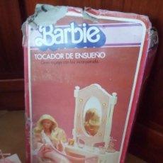 Barbie y Ken: TOCADOR DE ENSUEÑO DE LA MUÑECA BARBIE MATTEL CONGOST SPAIN. Lote 122308843