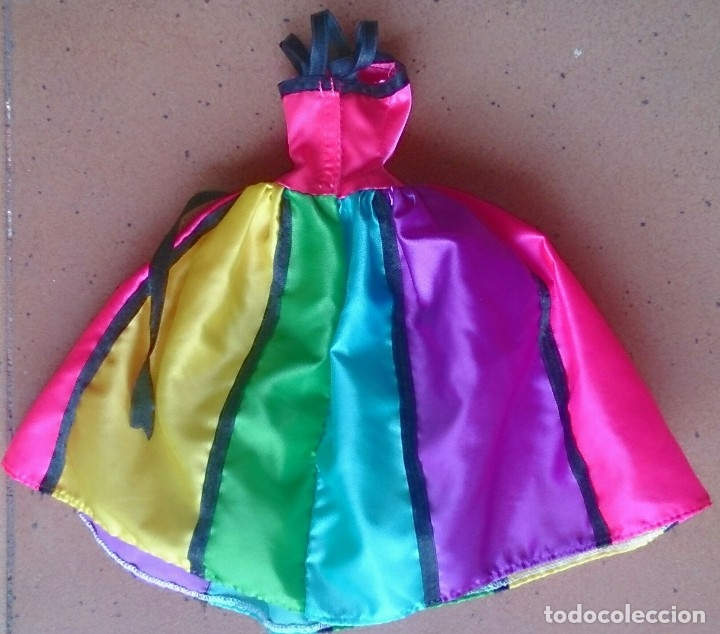 Barbie y Ken: Vestido Alta Costura Haute Couture años 90 original muñeca Barbie - Foto 2 - 124384055
