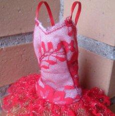 Barbie y Ken: VESTIDO VALERY ORIGINAL MUÑECA BARBIE CONGOST ALTA COSTURA PRET A PORTER SPAIN . Lote 124388479