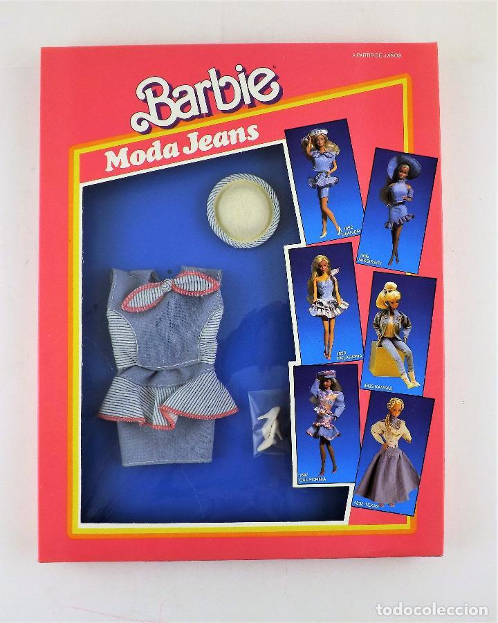 BARBIE CONJUNTO 1692 DENVER EN CAJA. (Juguetes - Muñeca Extranjera Moderna - Barbie y Ken - Vestidos y Accesorios)