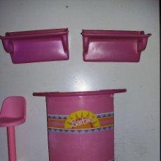 Barbie y Ken: PIEZAS DE BARRA DE BAR O COCKTALES DE BARBIE ANTIGUA AÑOS 80. Lote 125227691