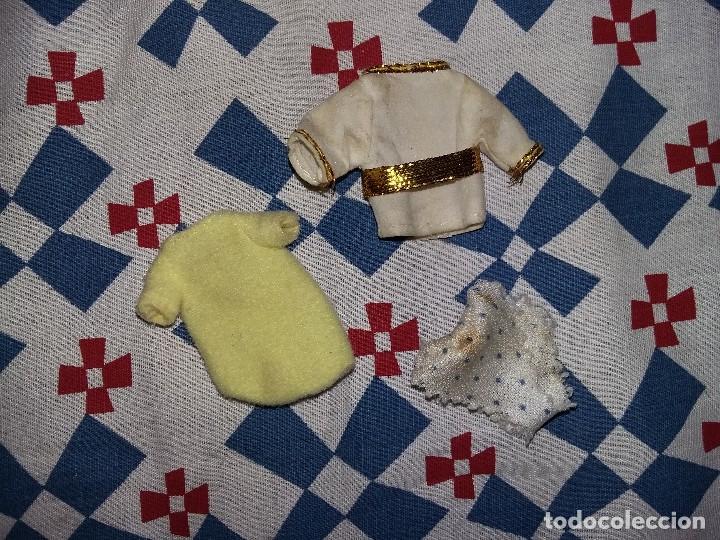 ROPA ANTIGUA BARBIE BEBES BABY MAS BRAGUITAS DE LUNARES AZULES (Juguetes - Muñeca Extranjera Moderna - Barbie y Ken - Vestidos y Accesorios)