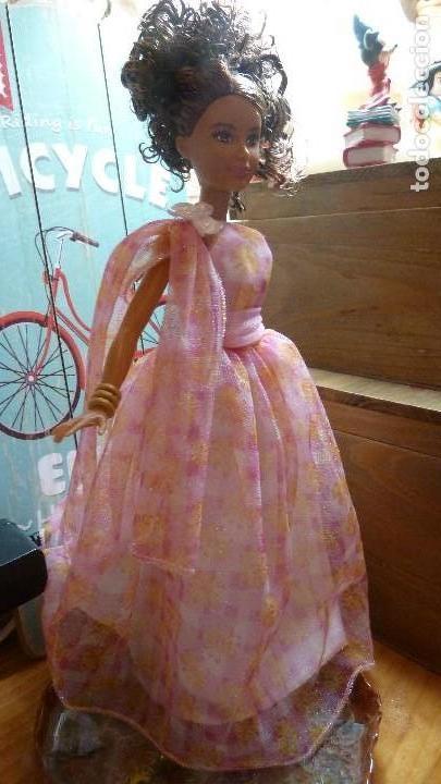 VESTIDO GASA FASHION AVENUE. BARBIE (Juguetes - Muñeca Extranjera Moderna - Barbie y Ken - Vestidos y Accesorios)