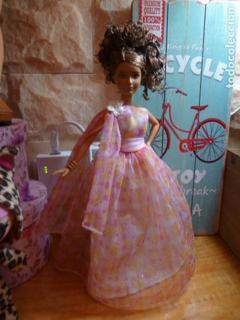 Barbie y Ken: Vestido gasa Fashion Avenue. Barbie - Foto 5 - 126071347