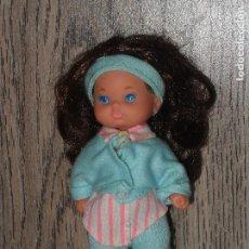 Barbie y Ken: MUÑECA BEBE BARBIE MORENA MATTEL. Lote 130191895
