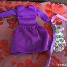 Barbie y Ken: VESTIDO VINTAGE BARBIE. Lote 131079516
