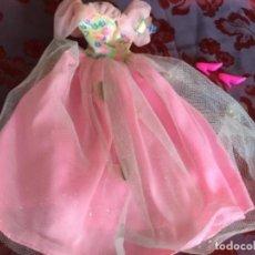 Barbie y Ken: VESTIDO Y ZAPATOS BARBIE MARIPOSAS. Lote 131079740