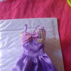 Barbie y Ken: VESTIDO BARBIE ETIQUETA GENUINE. Lote 131143531