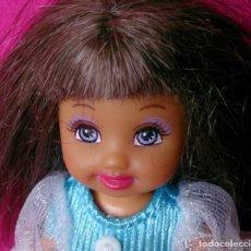 Barbie y Ken: MUÑECA MATTEL 1994 PELO CASTAÑO Y OJOS VIOLETAS. Lote 131555510