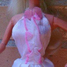 Barbie y Ken: MONO BLANCO CONJUNTO LIDO ALTA COSTURA BARBIE CONGOST SPAIN . Lote 131787482
