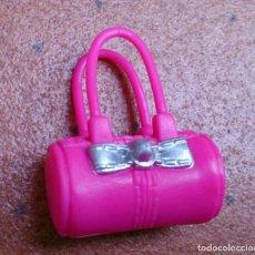Barbie y Ken: BOLSO DE MANO ORIGINAL MUÑECA BARBIE FASHIONISTA FASHIONISTAS ROSA Y PLATEADO . Lote 132190438