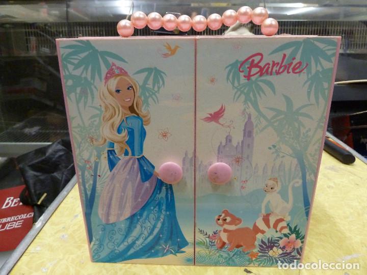ARMARIO JOYERO MUSICAL BARBIE (Juguetes - Muñeca Extranjera Moderna - Barbie y Ken - Vestidos y Accesorios)
