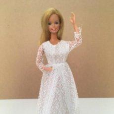 Barbie y Ken: VESTIDO NOVIA VINTAGE PARA BARBIE. Lote 133963282