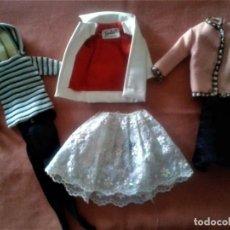Barbie y Ken: LOTE DE ROPAS DE BARBIE VINTAGE AÑOS 60 . Lote 134337374