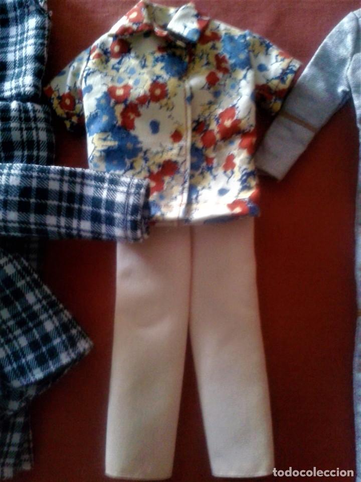 Barbie y Ken: LOTE DE ROPAS DE KEN VINTAGE AÑOS 60 - Foto 4 - 134338178
