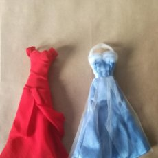 Barbie y Ken: VESTIDOS INOLVIDABLES SALVAT - PRETTY WOMAN - AVA GARDNER - VESTIDOS TAMAÑO BARBIE. Lote 134918486