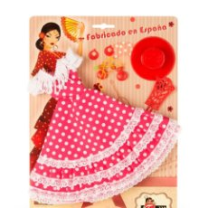 Barbie y Ken: BLISTER VESTIDO Y COMPLEMENTOS PARA MUÑECA BARBIE CON VESTIDO ANDALUZA.. Lote 138688322