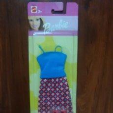 Barbie e Ken: VESTIDO DE BARBIE - TOP - FALDA - ZAPATOS - MATTEL - NUEVO - NEW. Lote 57757347