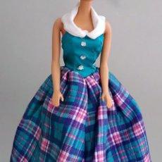 Barbie y Ken: ROPA BARBIE VESTIDO LARGO FIESTA. Lote 135855434
