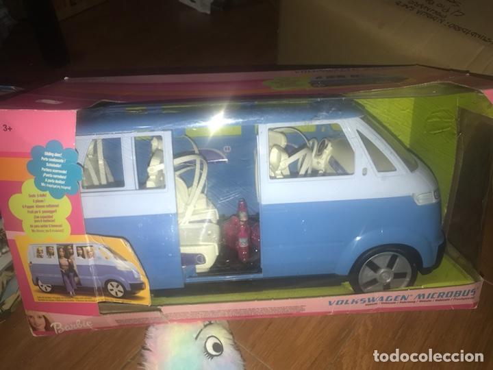 MICROBUS BARBIE VOLKSWAGEN (Juguetes - Muñeca Extranjera Moderna - Barbie y Ken - Vestidos y Accesorios)