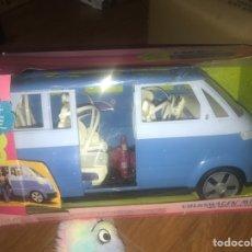 Barbie y Ken: MICROBUS BARBIE VOLKSWAGEN. Lote 136422169