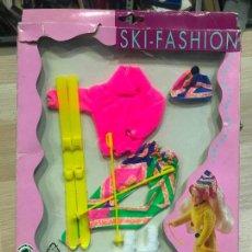 Barbie y Ken: VESTIDO CONJUNTO DE STEFFI LOVE SKI FASHION - NUEVO DE JUGUETERIA - NEW!. Lote 136757382