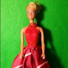 Barbie y Ken: BARBIE MATTEL1976 SPAIN CON VESTIDO DE OSCAR DE LA RENTA SERIE IX. Lote 136801822