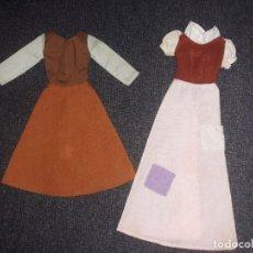 Barbie y Ken: VESTIDO CENICIENTA Y BLANCANIEVES SIRVIENTA. Lote 137360514