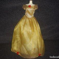 Barbie y Ken: VESTIDO BELLA Y BESTIA. Lote 137360774