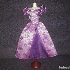 Barbie y Ken: VESTIDO DISNEY RAPUNZEL. Lote 137360894