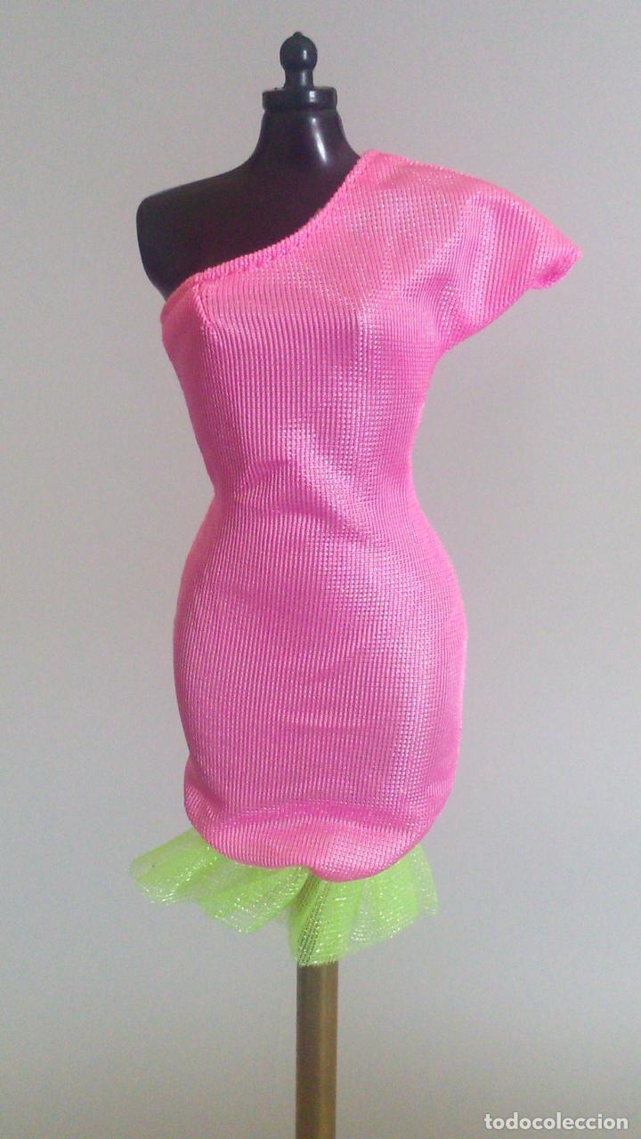 ROPA BARBIE VESTIDO CORTO (Juguetes - Muñeca Extranjera Moderna - Barbie y Ken - Vestidos y Accesorios)