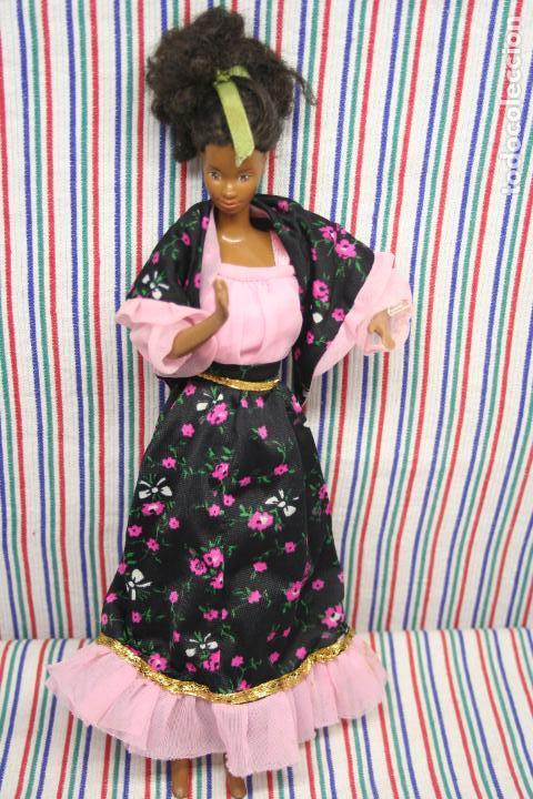 BARBIE, CONJUNTO PRIMAVERA CONGOST SPAIN. (Juguetes - Muñeca Extranjera Moderna - Barbie y Ken - Vestidos y Accesorios)