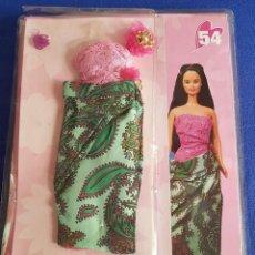 Barbie y Ken: == P48 - BONITO VESTIDO DESCUBRE EL MUNDO CON BARBIE, Nº 54 - MATTEL 2002. Lote 140208518