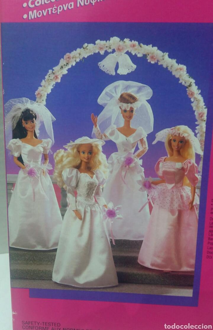 Barbie y Ken: BARBIE VESTIDO COLECCIÓN SUEÑOS DE NOVIA. NUEVO. MATTEL. REF 68363. 1994. INCLUYE UN COLGANTE.BRIDAL - Foto 4 - 141572034