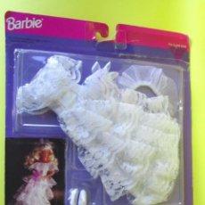 Barbie y Ken: MUÑECA BARBIE MATTEL VESTIDO DE NOVIA Y ACCESORIOS 1992 BLISTER NUEVO BRIDAL COLLECTION . Lote 142274098