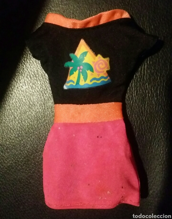 VESTIDO BARBIE GLITTER HAIR DE MATTEL (Juguetes - Muñeca Extranjera Moderna - Barbie y Ken - Vestidos y Accesorios)