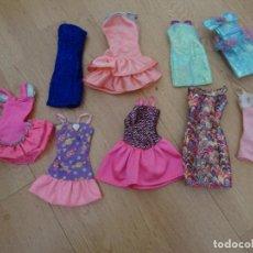 Barbie y Ken: BARBIE - LOTE 9 VESTIDOS. Lote 143398042