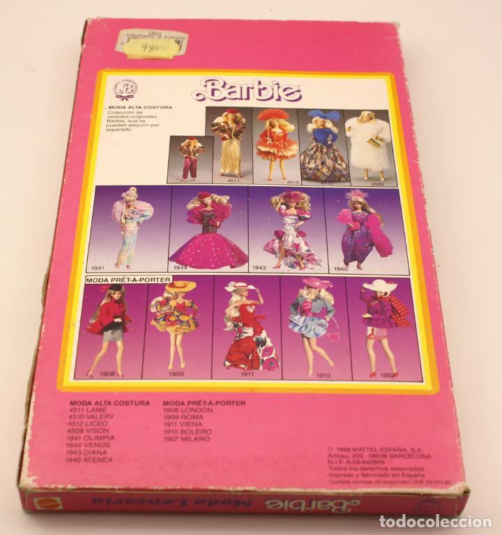 Barbie y Ken: BARBIE - MODA LENCERIA - REF. 1501 - ANTIGUO BLISTER O CAJA - NUEVA, NUNCA ABIERTA - Foto 3 - 143400446