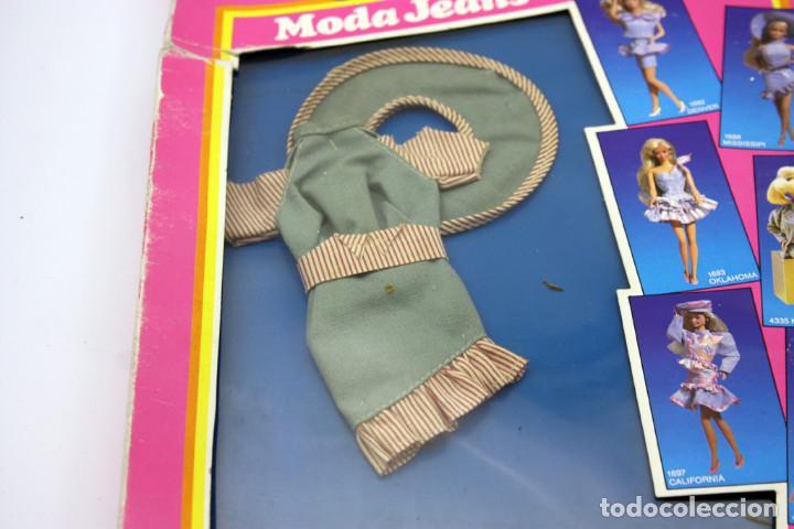 Barbie y Ken: BARBIE - MODA JEANS - ANTIGUO BLISTER O CAJA - 1988 - NUEVA, NUNCA ABIERTA - Foto 2 - 143400566