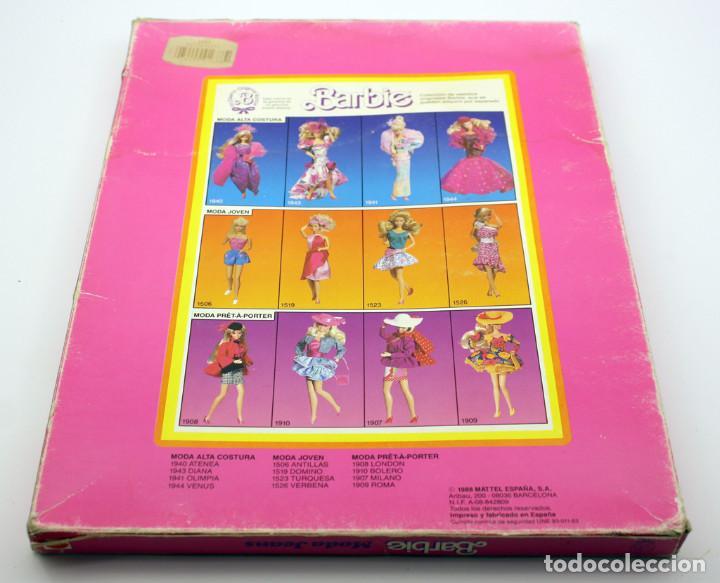 Barbie y Ken: BARBIE - MODA JEANS - ANTIGUO BLISTER O CAJA - 1988 - NUEVA, NUNCA ABIERTA - Foto 3 - 143400566