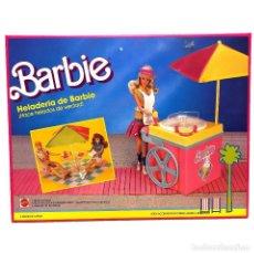 Barbie y Ken: BARBIE HELADERÍA MATTEL VINTAGE. NUEVO. Lote 262621200