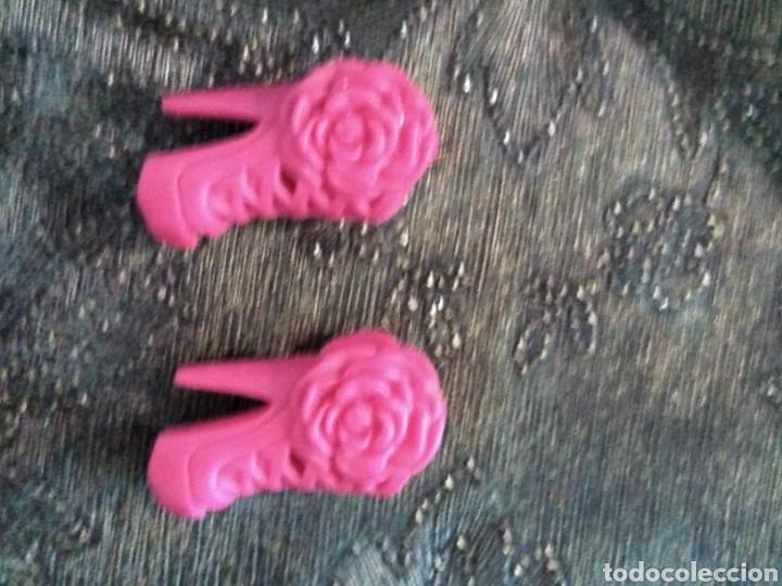Barbie y Ken: Zapatos barbie fashionistas rosas - Foto 2 - 144385889