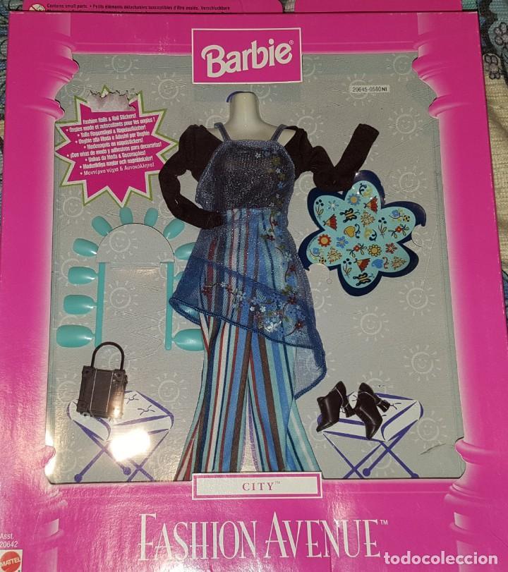 VESTIDO MUÑECA BARBIE FASHION (Juguetes - Muñeca Extranjera Moderna - Barbie y Ken - Vestidos y Accesorios)
