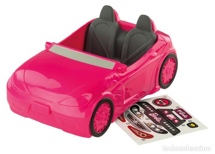 Car Ken 5 Coche 6 X Descapotable Fucsia Barbie 11 Biplaza Pegatinas Rosa Deportivo AjL53cRS4q