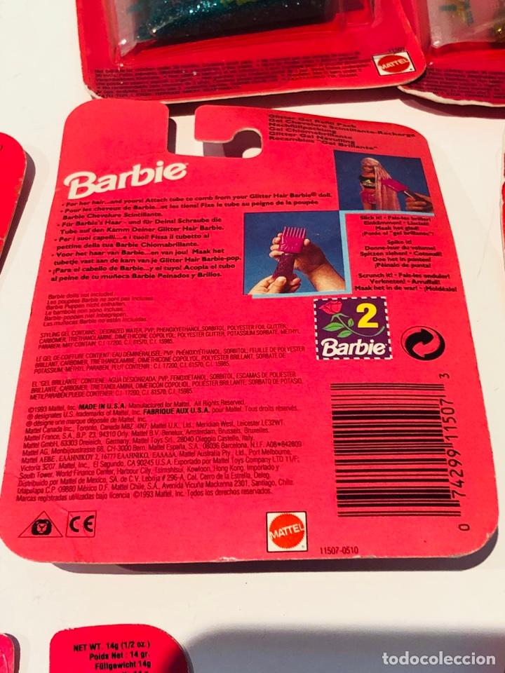 Barbie y Ken: Barbie Glitter Gel Mattel USA 1993 - Foto 3 - 147726390